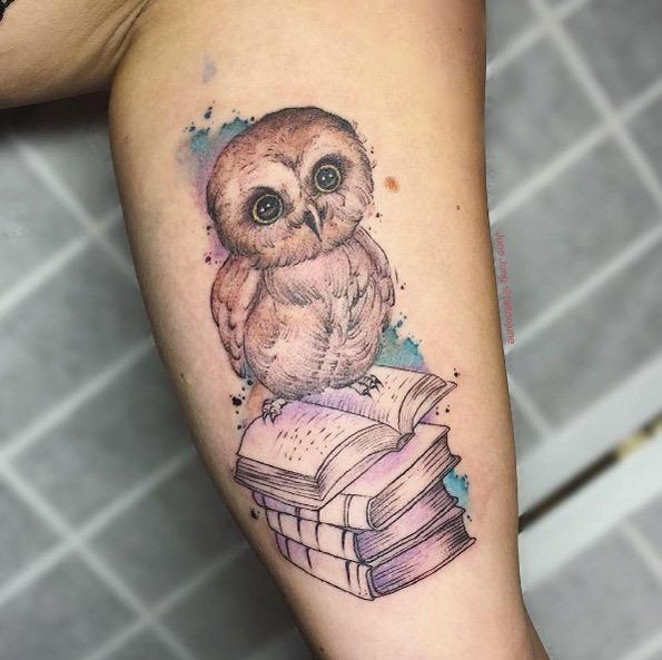 este_beb_coruja_livro_de_tatuagem