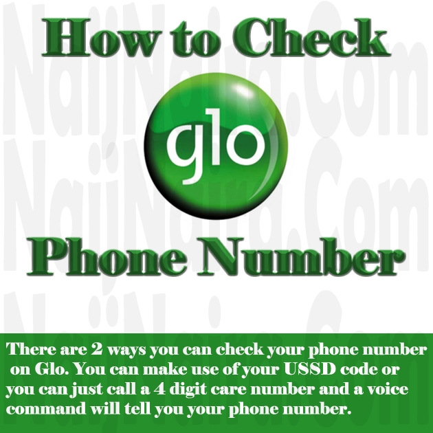 How to Check Phone Number on Glo Line (New Code)