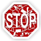 Мусор - СТОП знак не сорить и не бросать мусор