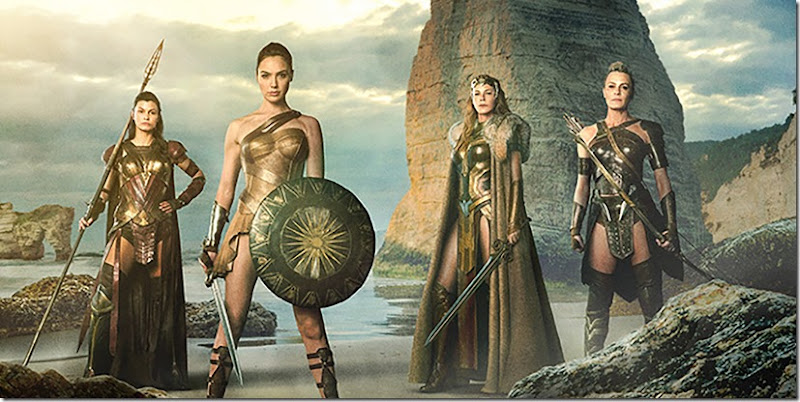 Wonder-Woman-and-Amazons-on-Themyscira