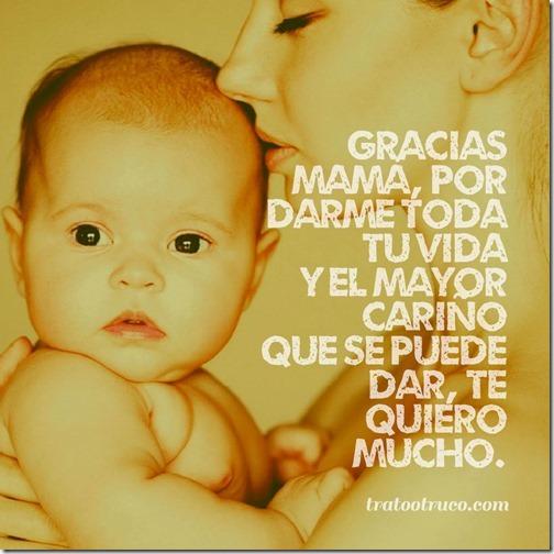 Gracias mamá, por darme toda tu vida