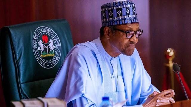 Nigerians in London storm Abuja House, tell Buhari to return home
