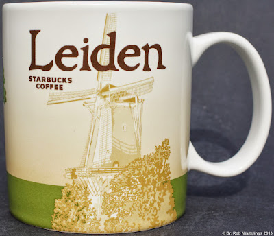 Leiden Starbucks City Mugs
