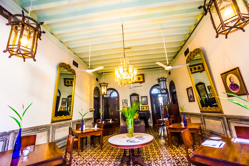 Penang Cheong Fatt Tze Mansion (Blue Mansion) Restaurant2