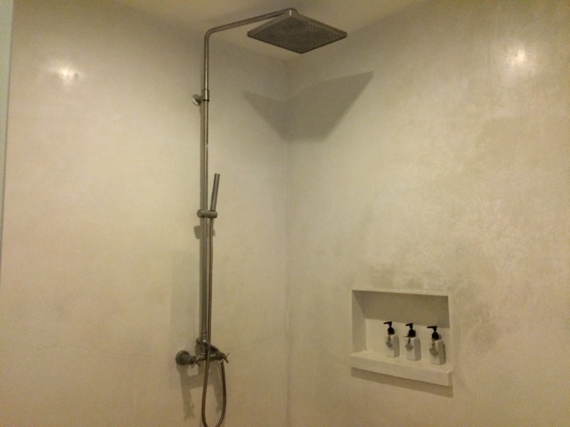 shower area, room  at yaiya resorts, hua hin, thailand