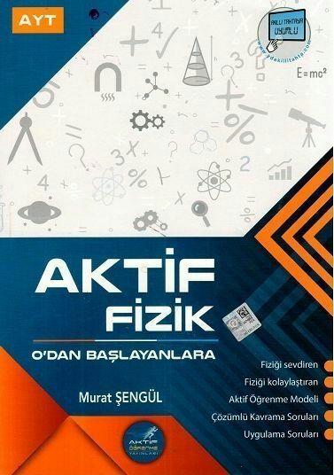 Aktif Öğrenme Yayınları AYT Fizik 0 dan Başlayanlara