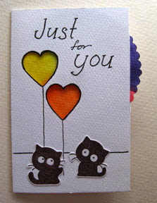 interactive card photo