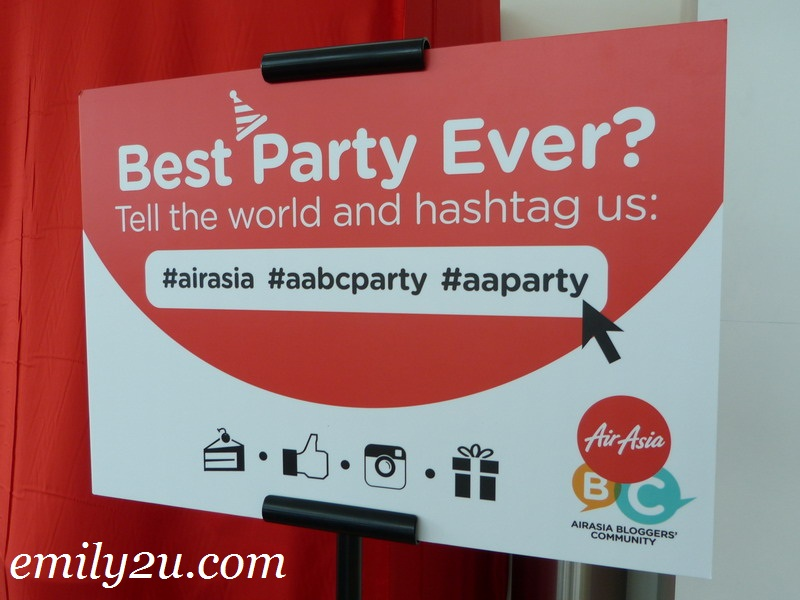 AirAsia Bloggers' Community Party