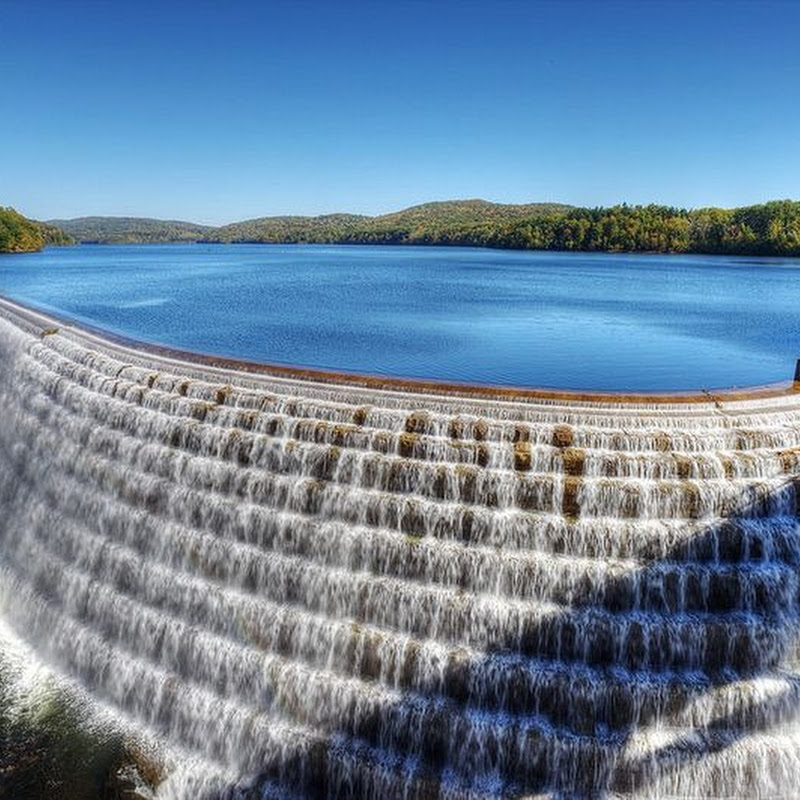The New Croton Dam And Spillway
