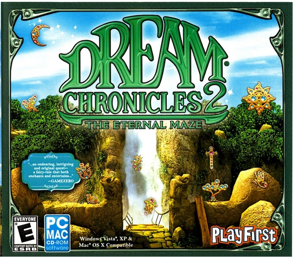 Dream Chronicles 2: The Eternal Maze cover