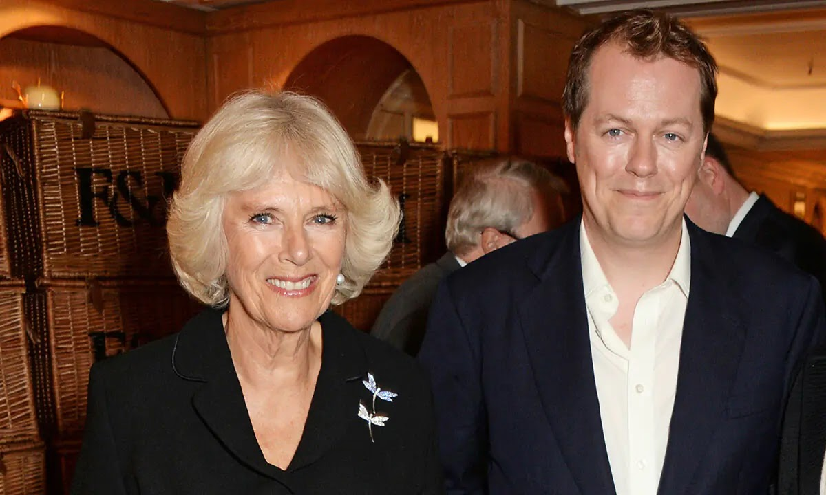 Duchess of Cornwall joined by son Tom Parker Bowles for Instagram Book Club