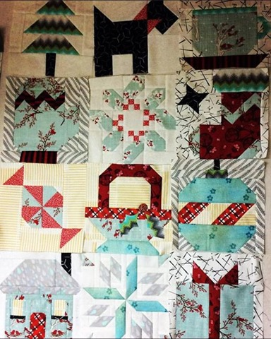 winter wonderland blocks