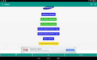 Screenshot of USB Drivers for Android