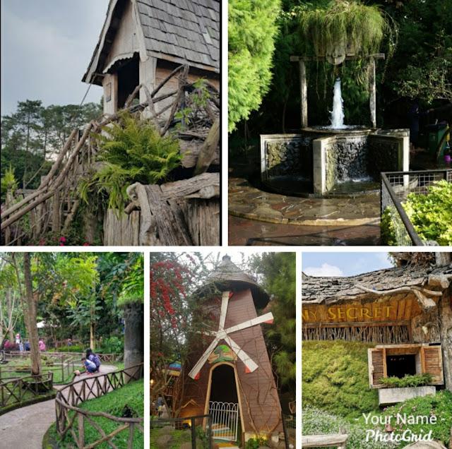 Spot foto wisata farm house