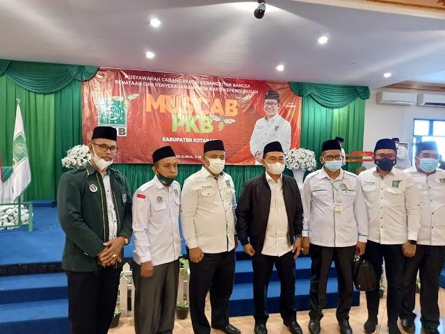 Zairullah Azhar Hadiri Muscab PKB Kotabaru