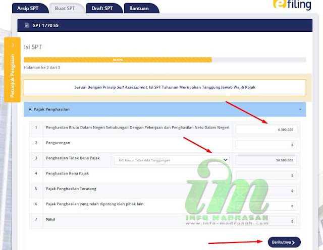 Tutorial Pengisian SPT 1770 SS Secara Online Untuk Guru Madrasah
