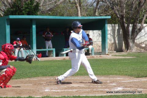 Daniel Serna de Yaquis en el beisbol municipal