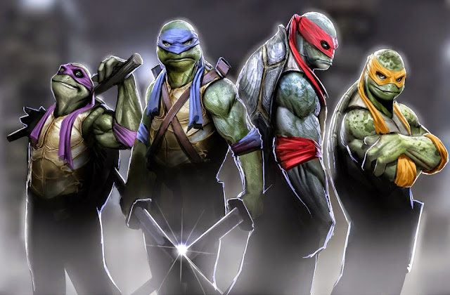MICHAEL BAY SHARE NEW IMAGES FROM TEENAGE MUTANT NINJA TURTLES 2