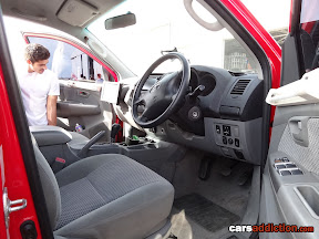 Top Gear Hilux Truck Interior