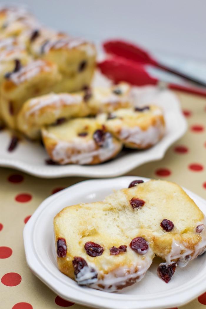 cranberry orange yeast bread