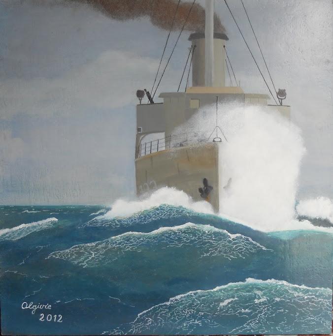 hobby peinture - Peinture maritime : nouveau hobby ? DSCN1824
