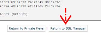 Kembali ke SSL Manager