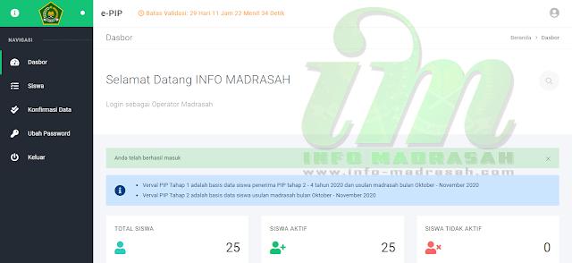 Cara Verval PIP Madrasah Secara Online Dengan Mudah