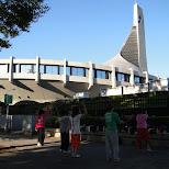 yoyogi stadium in Shibuya, Tokyo, Japan