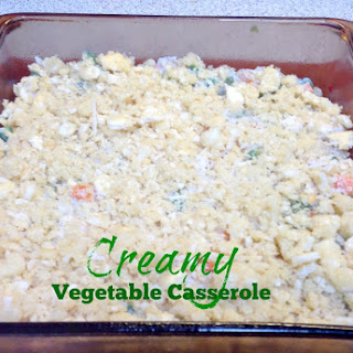 Creamy Vegetable Casserole.