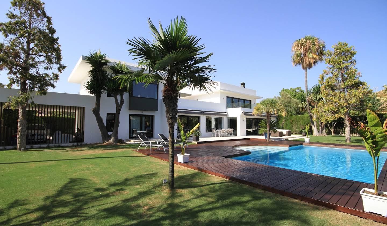 Villa avec piscine en bord de mer San Pedro de Alcántara
