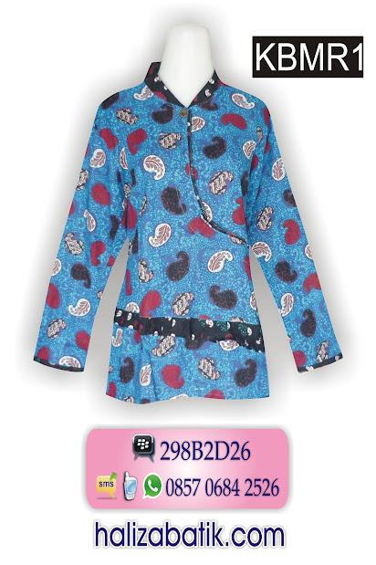 baju modern, motif batik pekalongan, batik kerja wanita