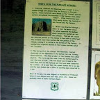 How the iron furnace worked posted on part bulleting board.