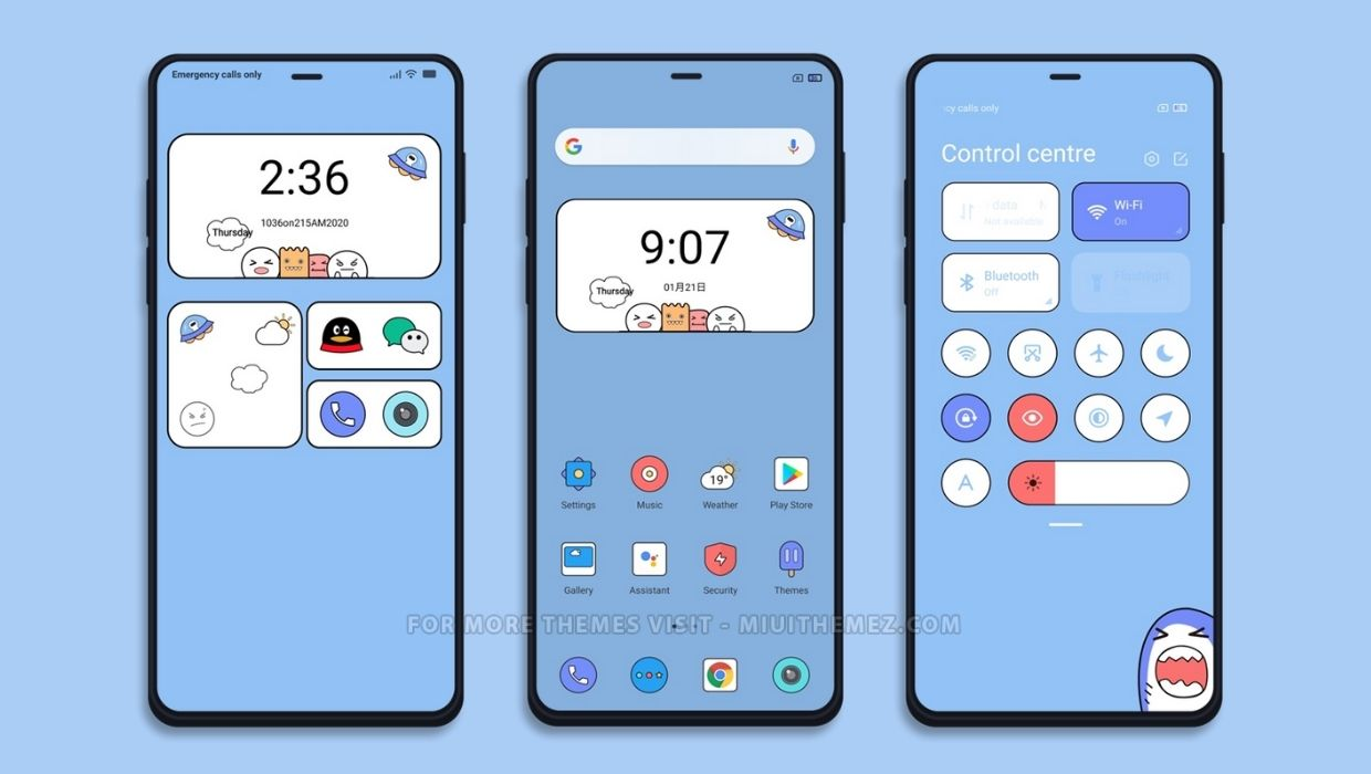 Cartoon v12 MIUI Theme