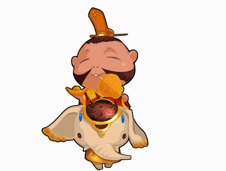 Loạt hình chibi dễ thương của các võ tướng Củ Hành - Ảnh 6
