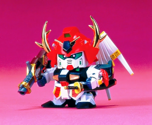 Lắp ghép Musha Nu Gundam BB-027 SD Sengokuden không tỷ lệ, cao khoảng 8 cm