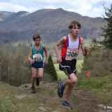 Todd Crag U12 race
