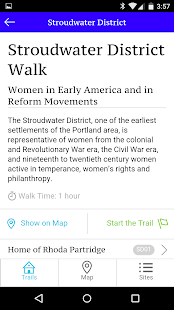 Portland Women's History Trail- screenshot thumbnail