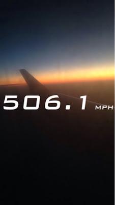 Courtney Tomesch Snapchat Airplane