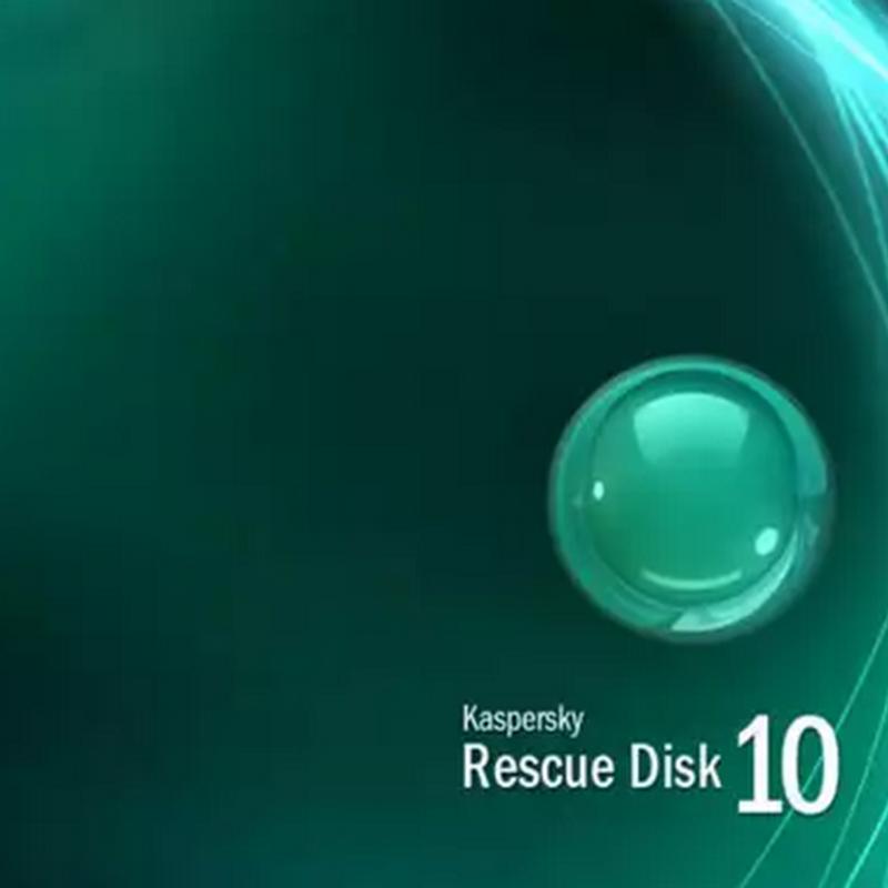 Kasperky Rescue Disk, Limpe computadores infectados