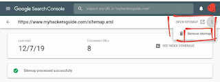 Submit Sitemap to Google