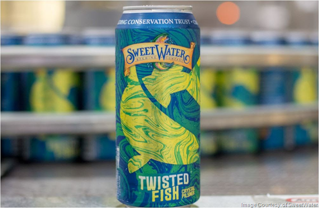 SweetWater Collaborating On Twisted Fish Crystal Pilsner