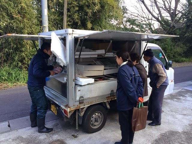 瀬戸内の鮮魚移動販売「魚の川越」
