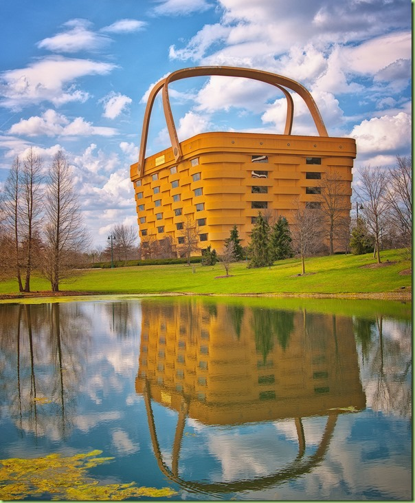 longaberger HQ Basket building newark Ohio6