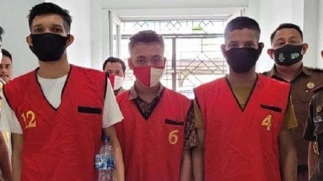3 Pria Aceh Timur Kasus 60 Kg Sabu Dituntut Hukuman Mati di Kajari Aceh Utara