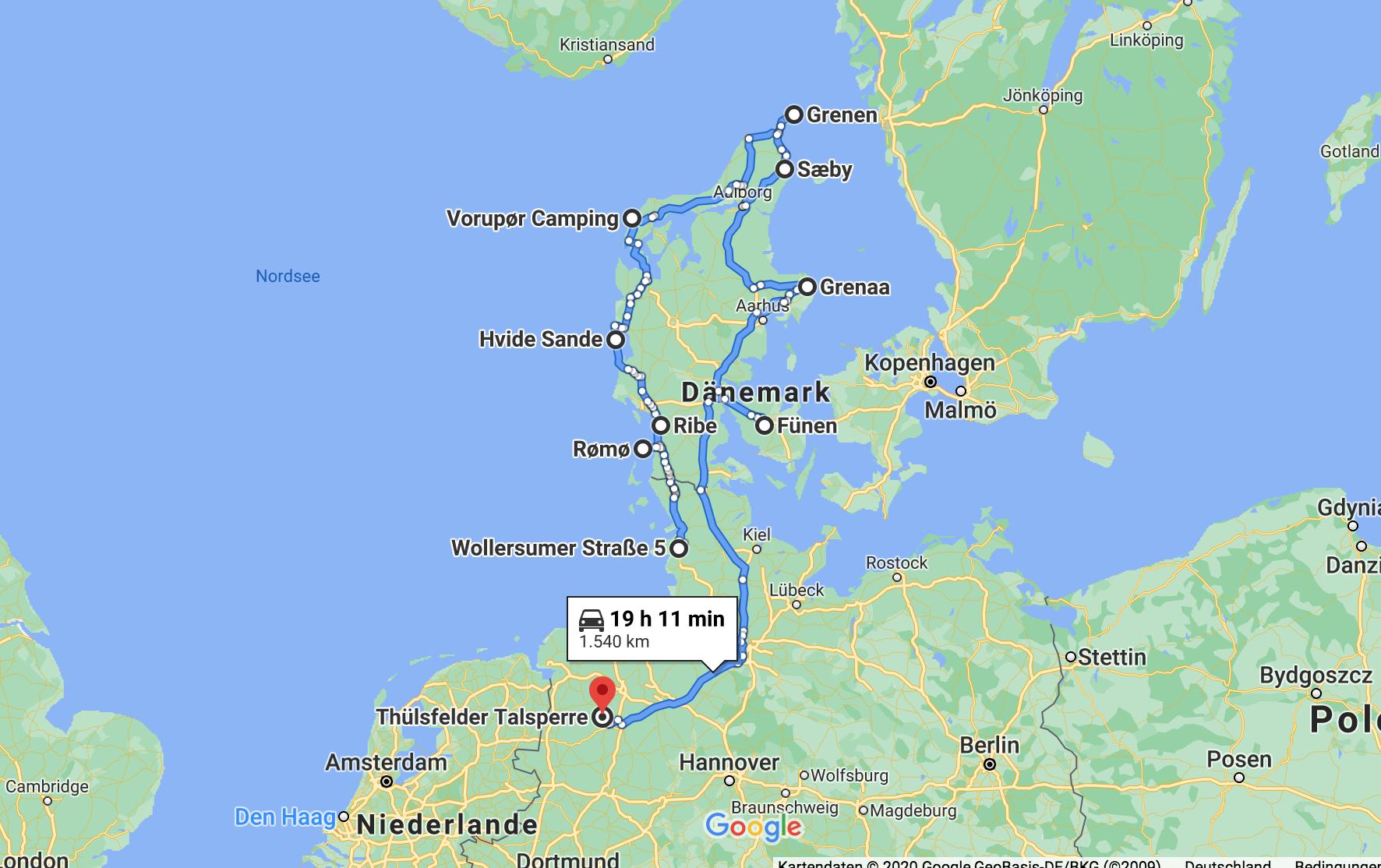 Dänemark-Rundreise Sommer 2020: Skagerrak-Tour