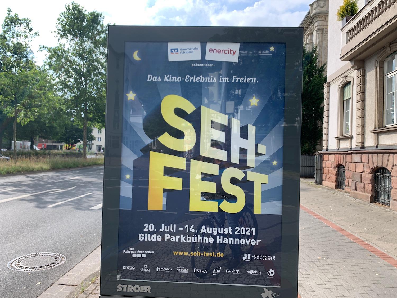 Seh-Fest Open Air-Kino Tickets und Programm 2021