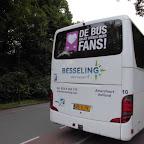 Setra van Besseling bus 10 met de bestickering van De bus krijgt steeds meer fans !