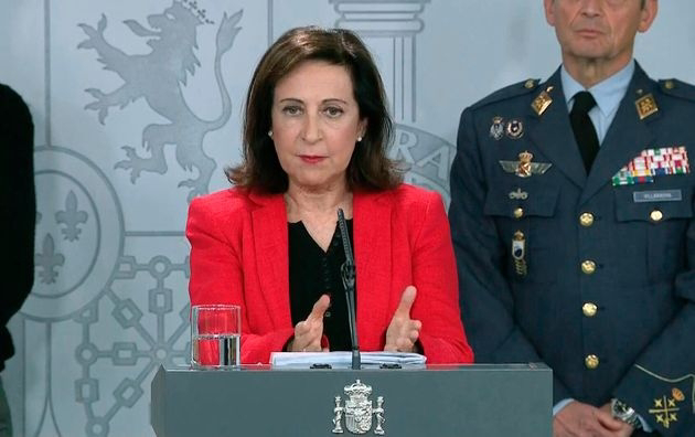 """Ministra de Defensa a Marruecos: """"Con España no se juega""""."""