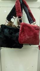 Borse in pelliccia da donna invernali