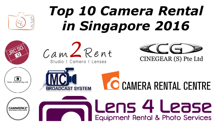 Top 10 Camera Rental in Singapore 2016